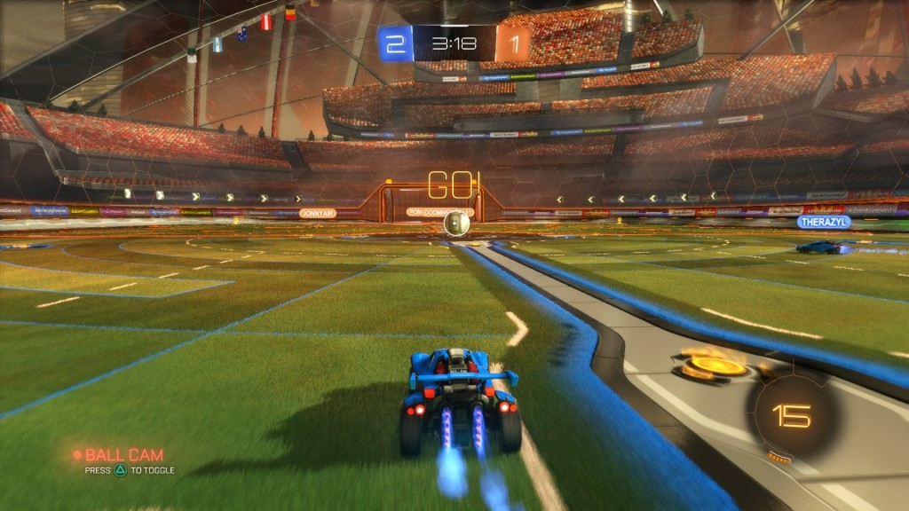 Rocket League Fun for gamer skill levels 9 to 99