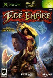 Jade Empire. The top game of.. 2003???? Ok, I feel old.