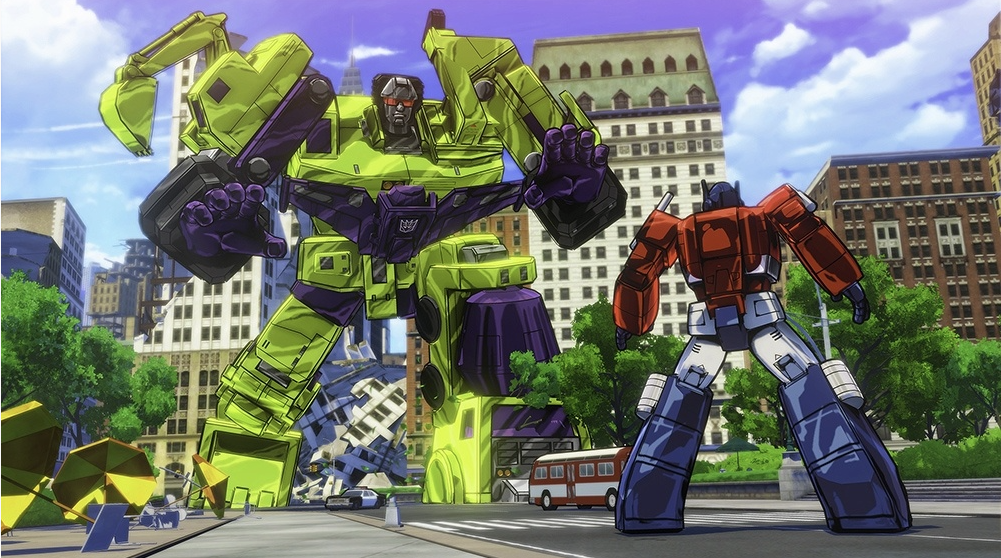 Never MIND Devastator, Optimus Prime, save us all from Michael Bay!