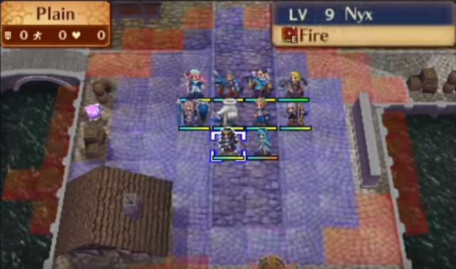 The beginning of a Fire Emblem Fates battle. Choose wisely on what your characters will do, choose EXCEPTIONALLY wisely if you have Permadeath on.