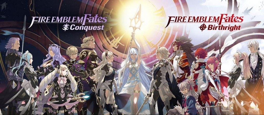 The factions of Fire Emblem Fates. And yeah, you're stuck in the middle. Make your choice.